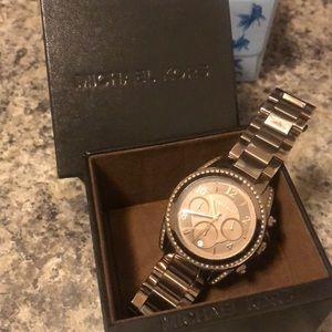Michael Kors Brown Metalic Watch